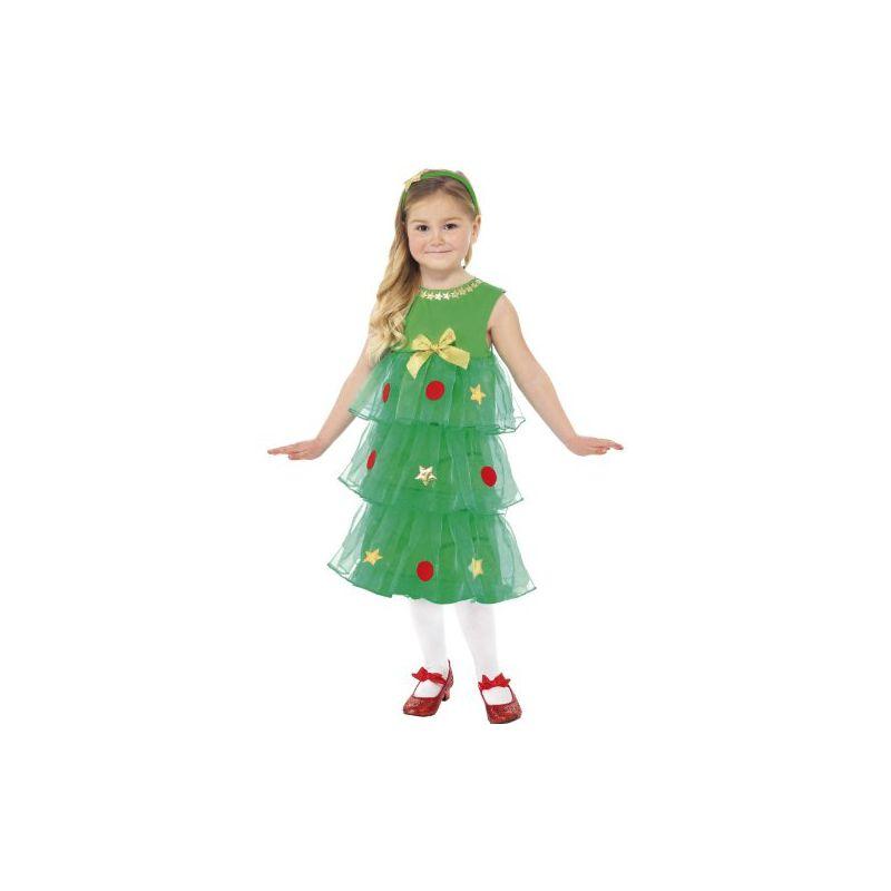 disfraz rbol de navidad nia
