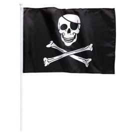 Bandera pirata con palo