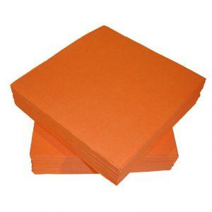 Servilletas naranjas 25 und