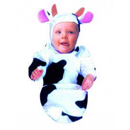 Disfraz vaca bebe de 7 a 12 meses