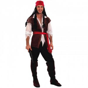 Disfraz pirata corsario xl