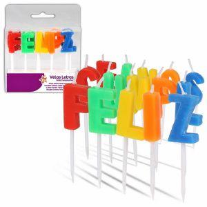 Velas feliz cumpleaños letras