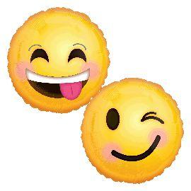 Globo helio sonrisa smile