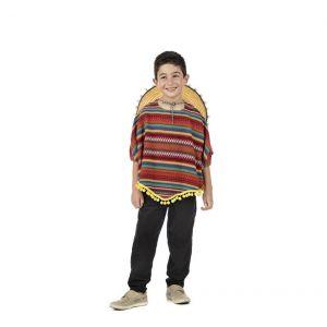 Disfraz mejicano niño
