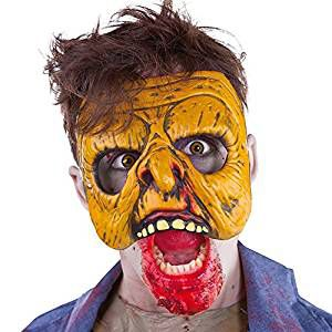 Media mascara zombie