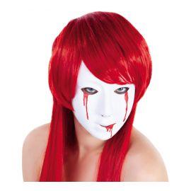Cara sangrienta mujer