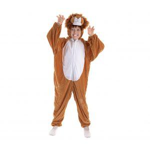 Disfraz leon infantil cremallera