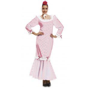 Disfraz madrileña chulapa adulto