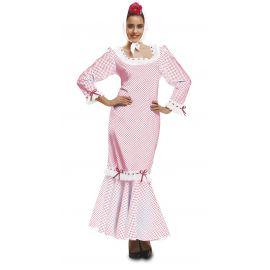 Disfraz madrileña chulapa XL