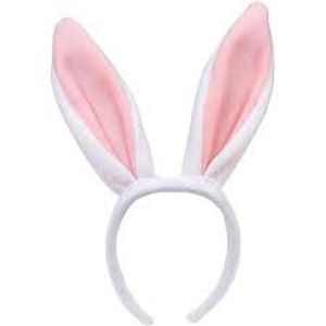 Diadema orejas conejo