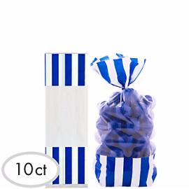 Bolsa plastico con cierre azules 10 und