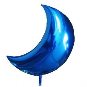Globo helio luna azul