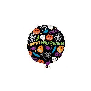 Globo helio circulo halloween