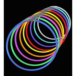 Pulseras fluorescentes pack 2 und