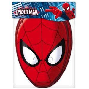 Caretas spiderman pack 6 und