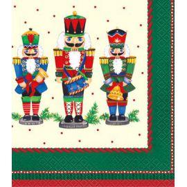 Servilletas soldado navidad