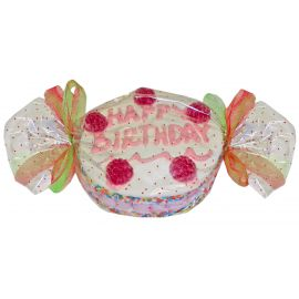 Tarta felíz cumpleaños golosinas