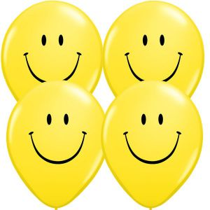 Globos smileys 10 und