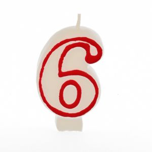 Vela blanca número 6
