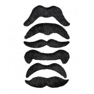 Set 6 bigotes piratas