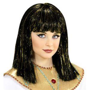 Peluca Cleopatra infantil