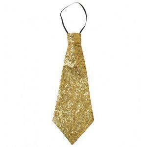 Corbata oro lurex