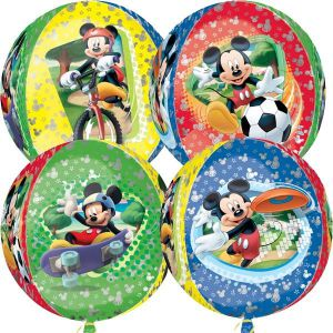 Globo helio esfera Mickey