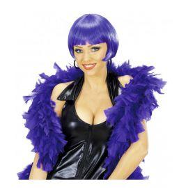 Boa plumas violeta