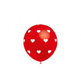 Globo gigante corazones