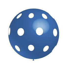 Globo gigante azul lunares