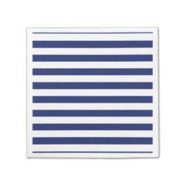 Servilletas lineas azul marino