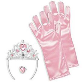 Set princesa rosa infantil