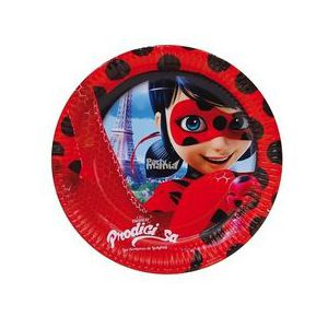 Platos Ladybug pequeños 8 und