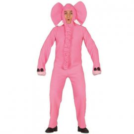 Disfraz elefante rosa