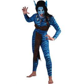 Disfraz guerrera jungla chica