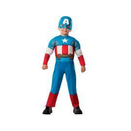 Disfraz Capitán América deluxe 1- 2 años