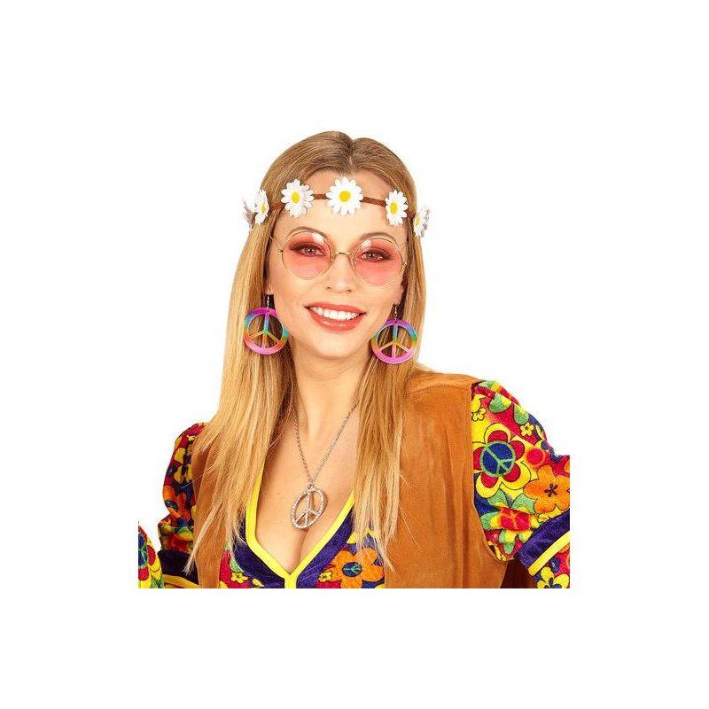 216d56a75 Set hippie pendientes y cinta de flores