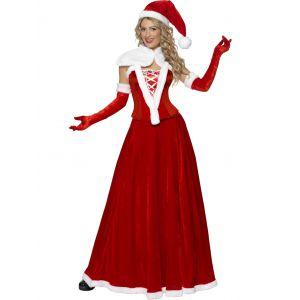 Disfraz miss santa lujo