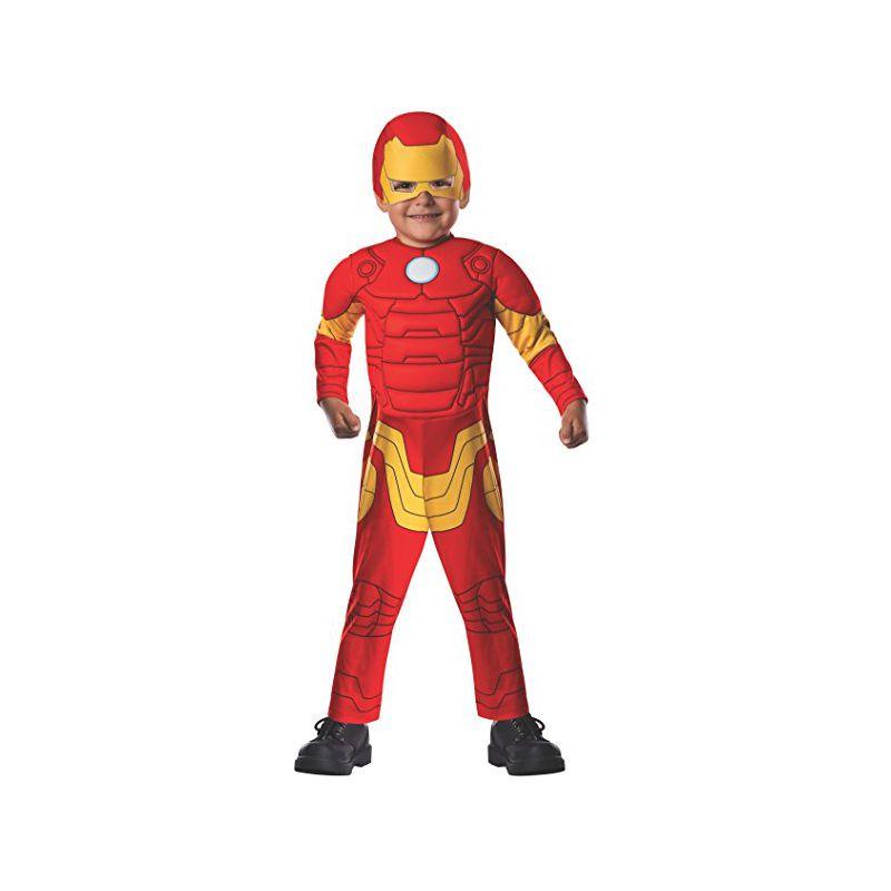 6580fadf67c Disfraz Iron Man Deluxe para niños de 1-2 años