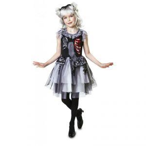 Disfraz damisela zombie