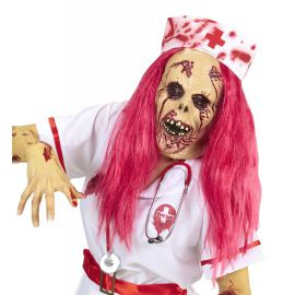 Mascara enfermera sangrienta