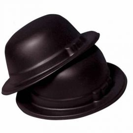 Sombrero bombin negro eva