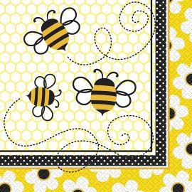 Servilletas abejas 16 und
