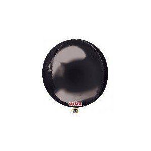 Globo helio esfera negra