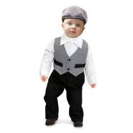 Disfraz madrileño chulapo de 0 a 6 meses