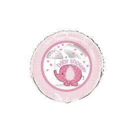 Globo helio elefante rosa