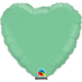 Globo helio corazon verde winter