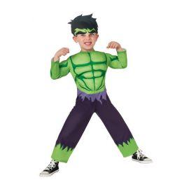 Disfraz Hulk deluxe niños de 1 a 2 años