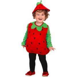 Disfraz fresa de 1 a 3 años