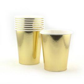 Vasos dorados 8 und